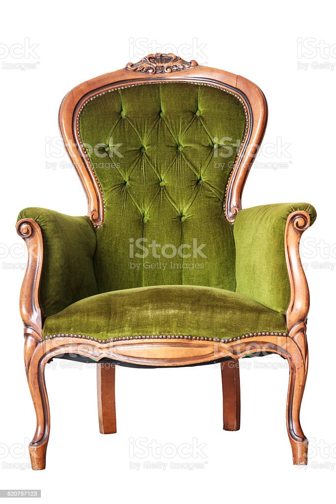 Luxury Chair stock photo