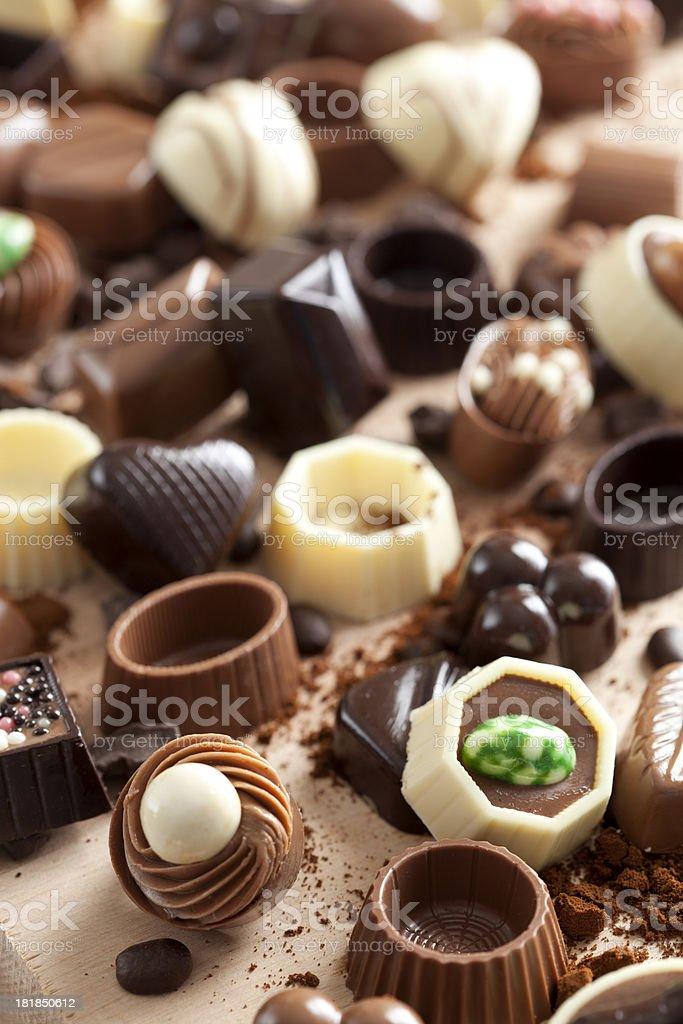 Luxury Chocolate royalty-free stock photo