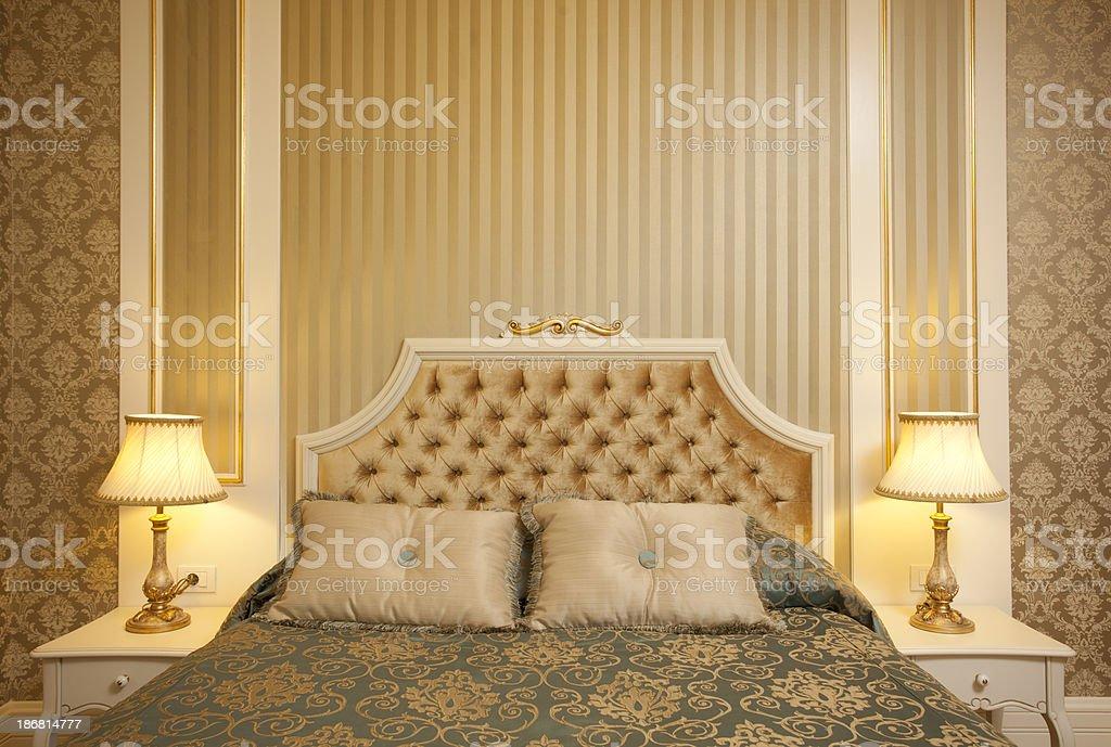 Luxury Classic Bedroom XXL royalty-free stock photo
