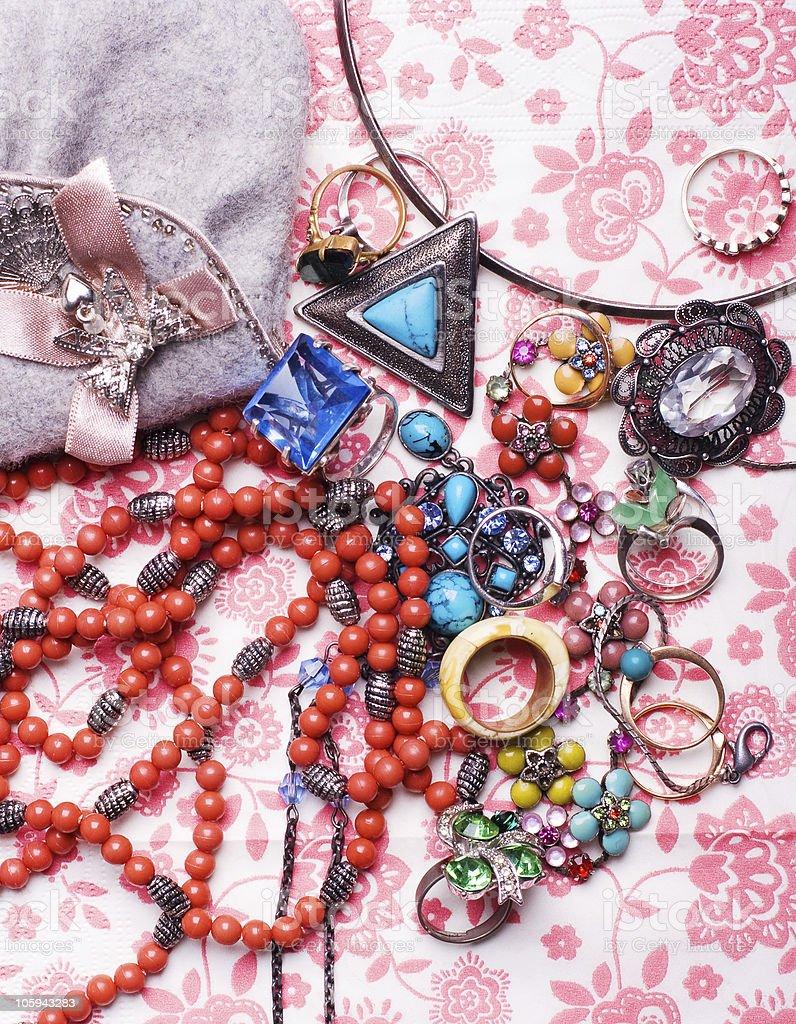 Colorido accesorios de lujo foto de stock libre de derechos