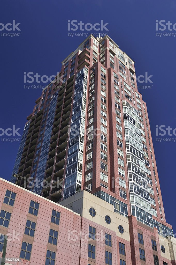 Luxury Condos in Philadelphia royalty-free stock photo