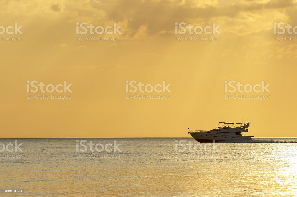Luxury Cruiser royalty-free stock photo