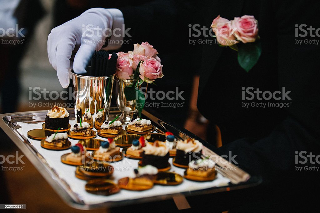 Luxury Delicious Appetizer Serving stock photo