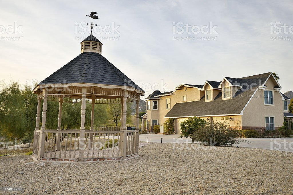 Luxury Desert Home royalty-free stock photo