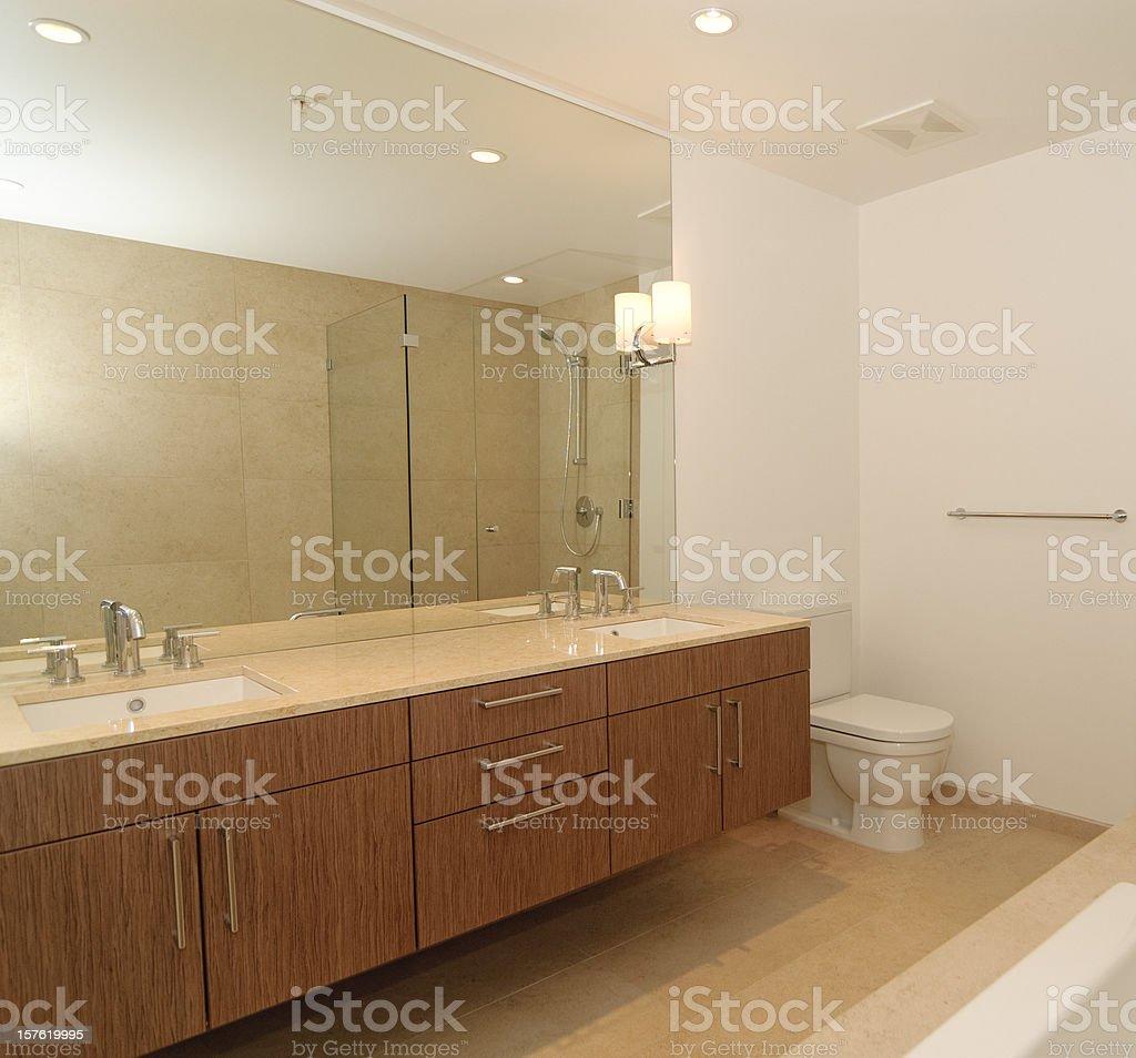 Luxury Designer Bathroom stock photo