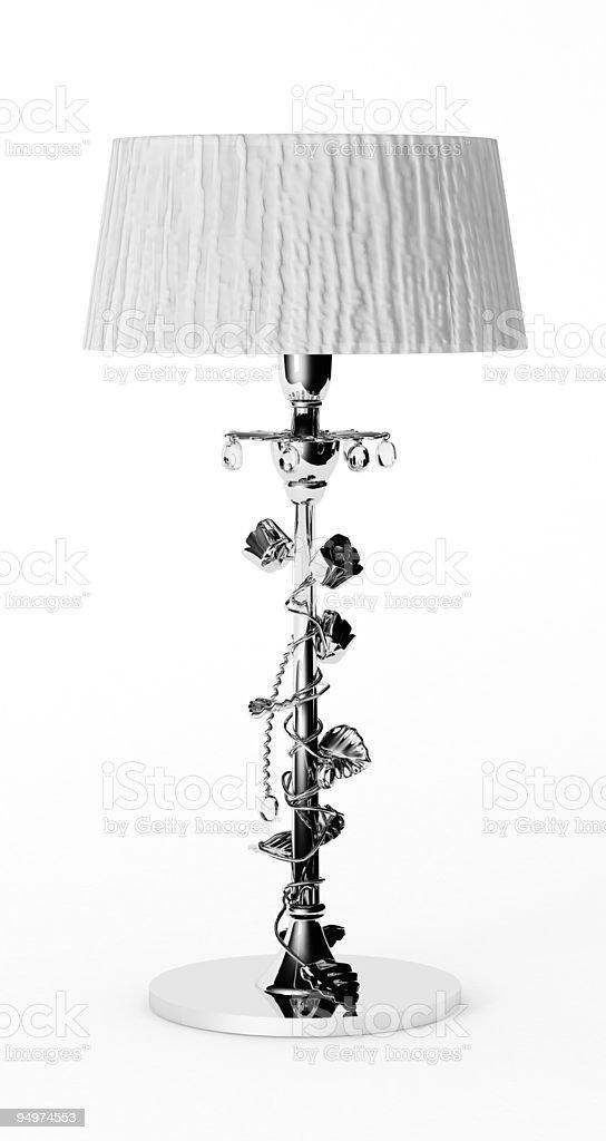 Luxury desk lamp royalty-free stock photo