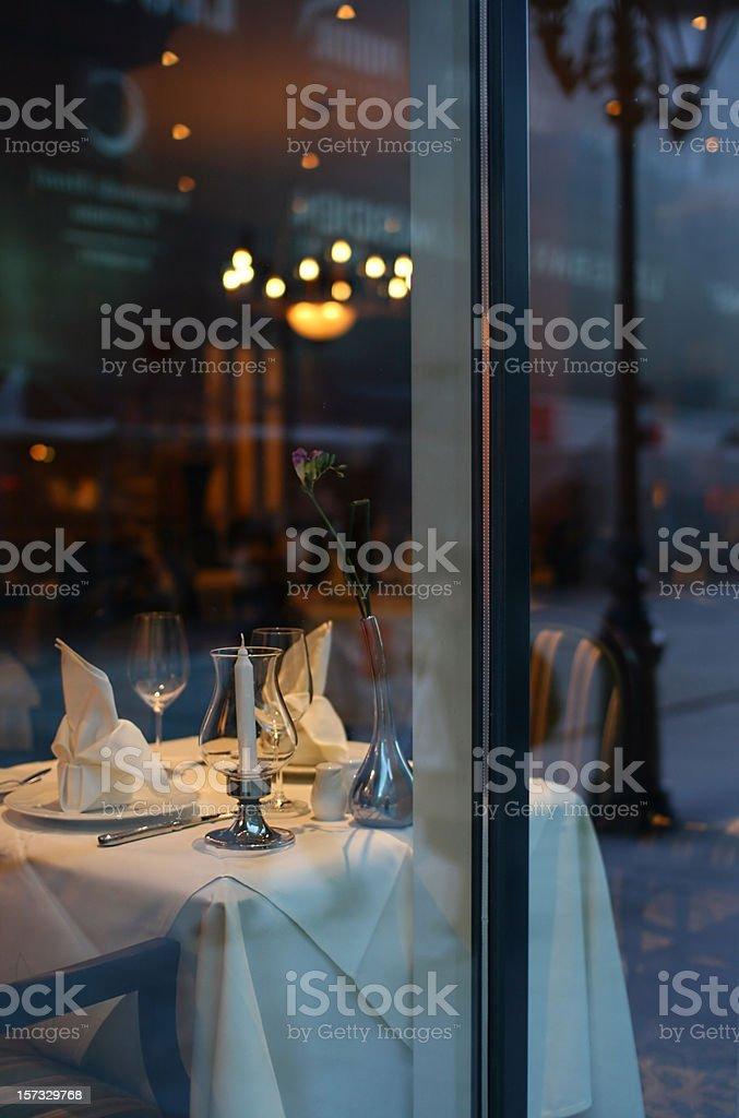 Luxury Dinner stock photo
