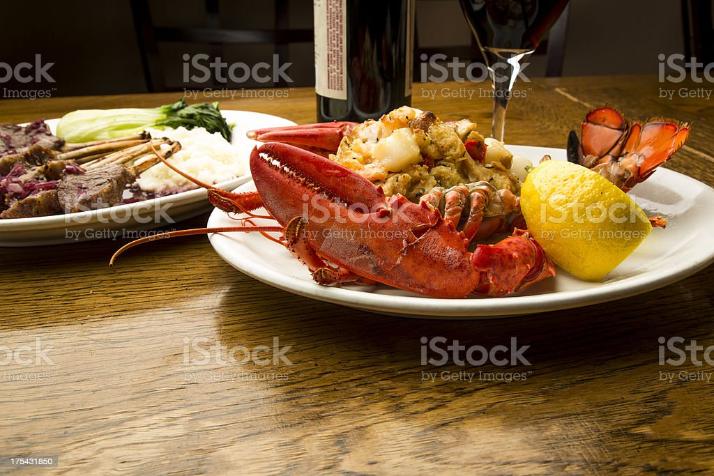 Luxury Dinner stock photo