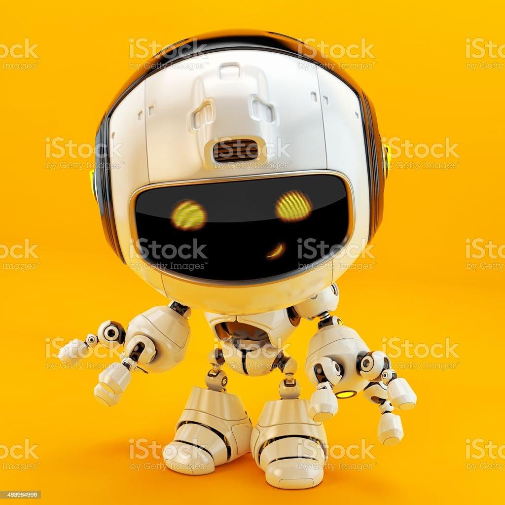 Luxury doggy robot stock photo