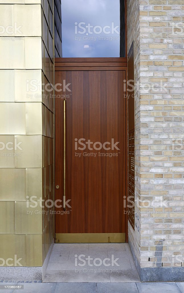 luxury door royalty-free stock photo