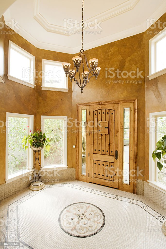 Luxury Entryway royalty-free stock photo