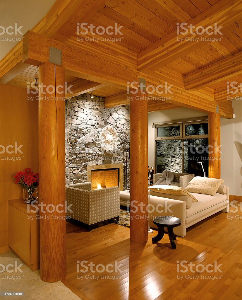 luxury estate home stock photo