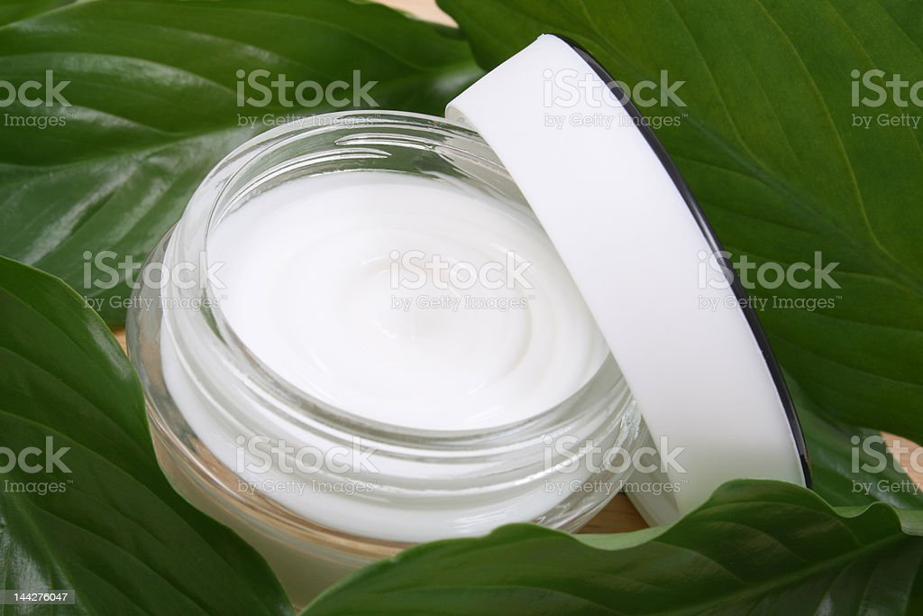 luxury face cream royalty-free stock photo