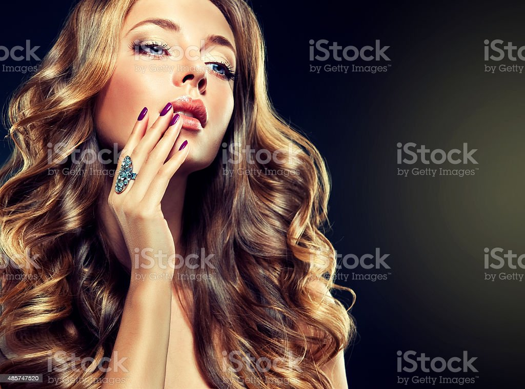 Luxury fashion style. stock photo