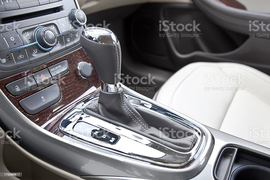 Luxury Gearshift royalty-free stock photo