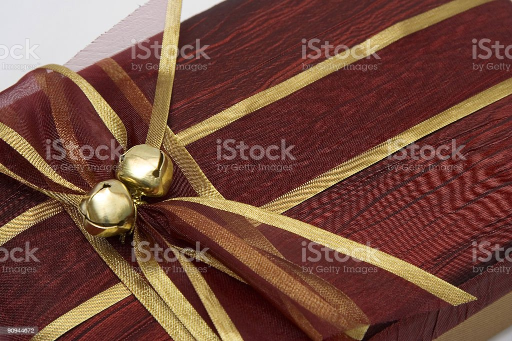 Luxury gift box royalty-free stock photo