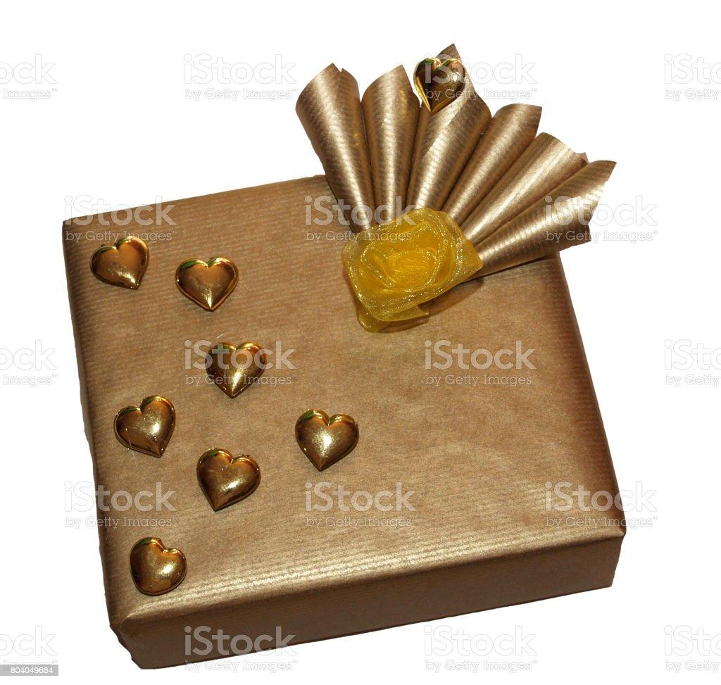 Luxury gift stock photo