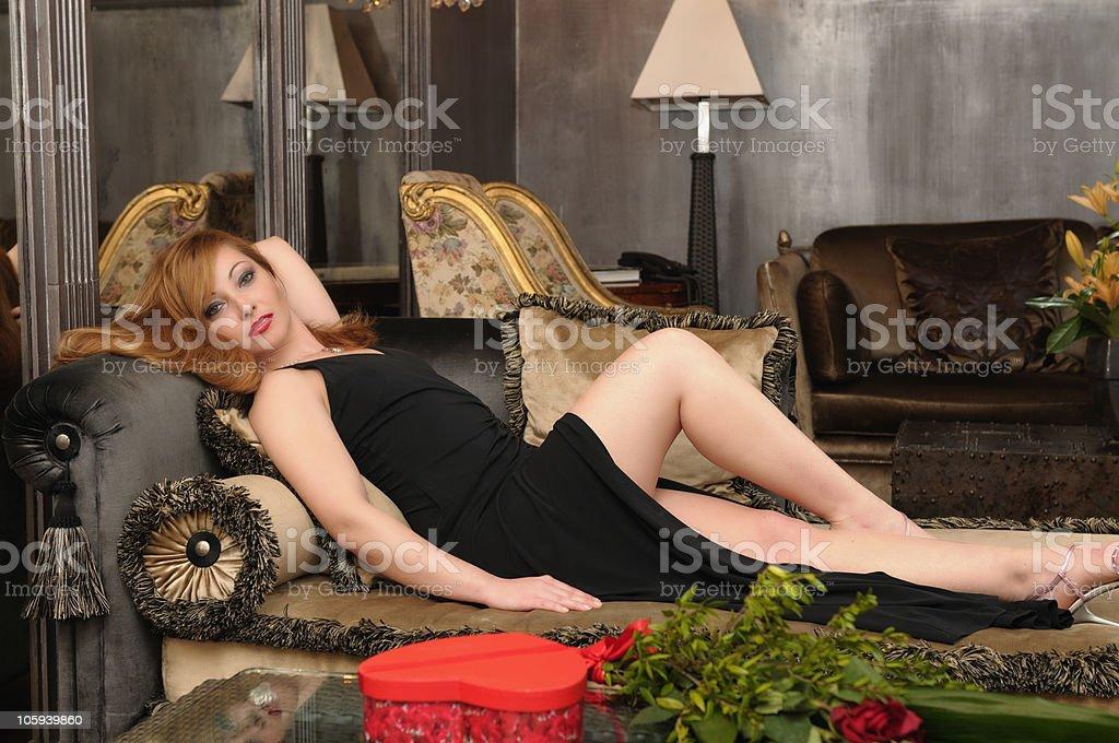 Luxury Girl royalty-free stock photo