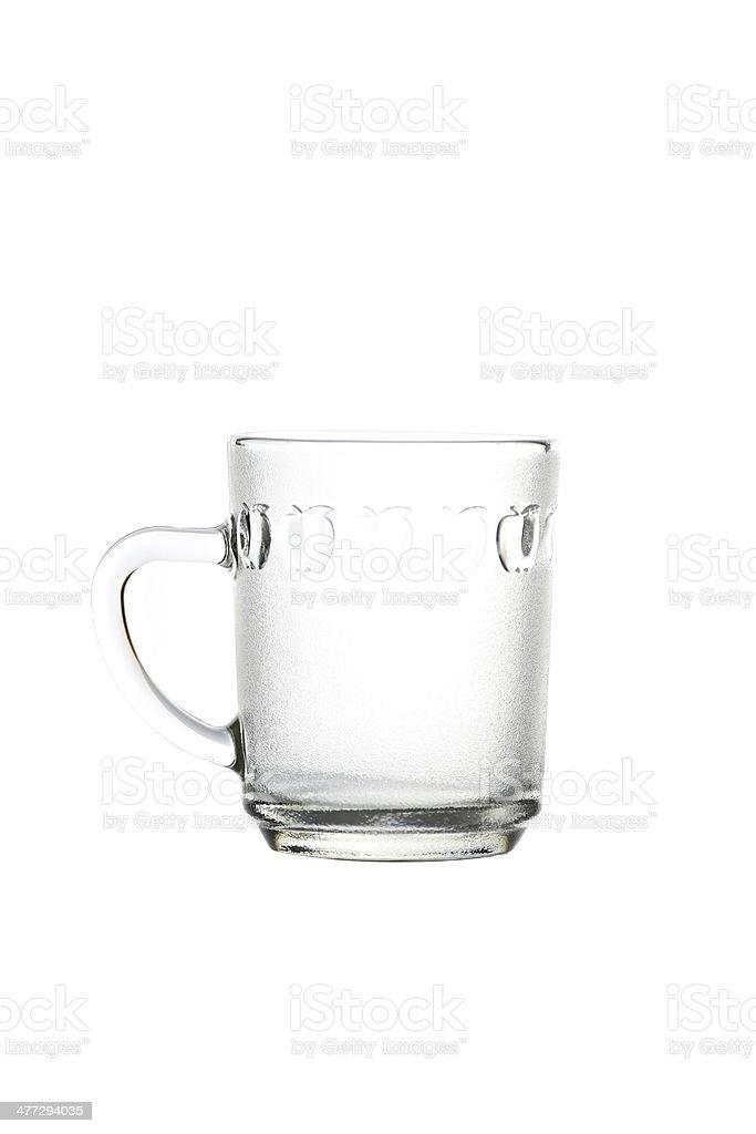 luxury glass isolated. royalty-free stock photo