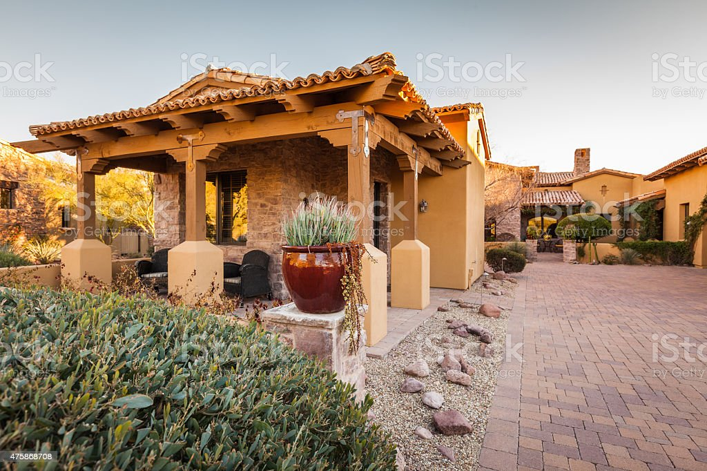 Luxury Guest Casita stock photo