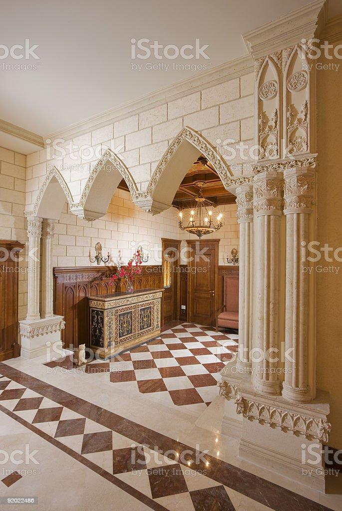 Luxury hall royalty-free stock photo