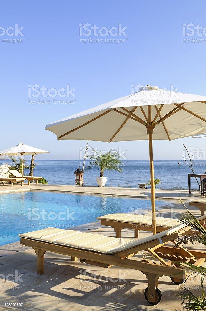 Luxury Holiday Resort royalty-free stock photo