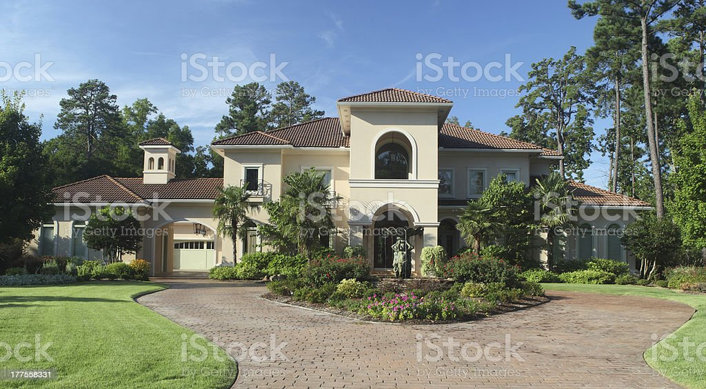 Luxury Home Exterior stock photo