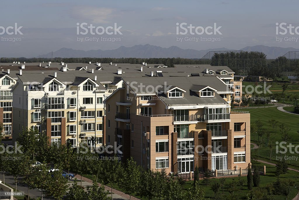 Luxury Home In Expensive Subdivision royalty-free stock photo