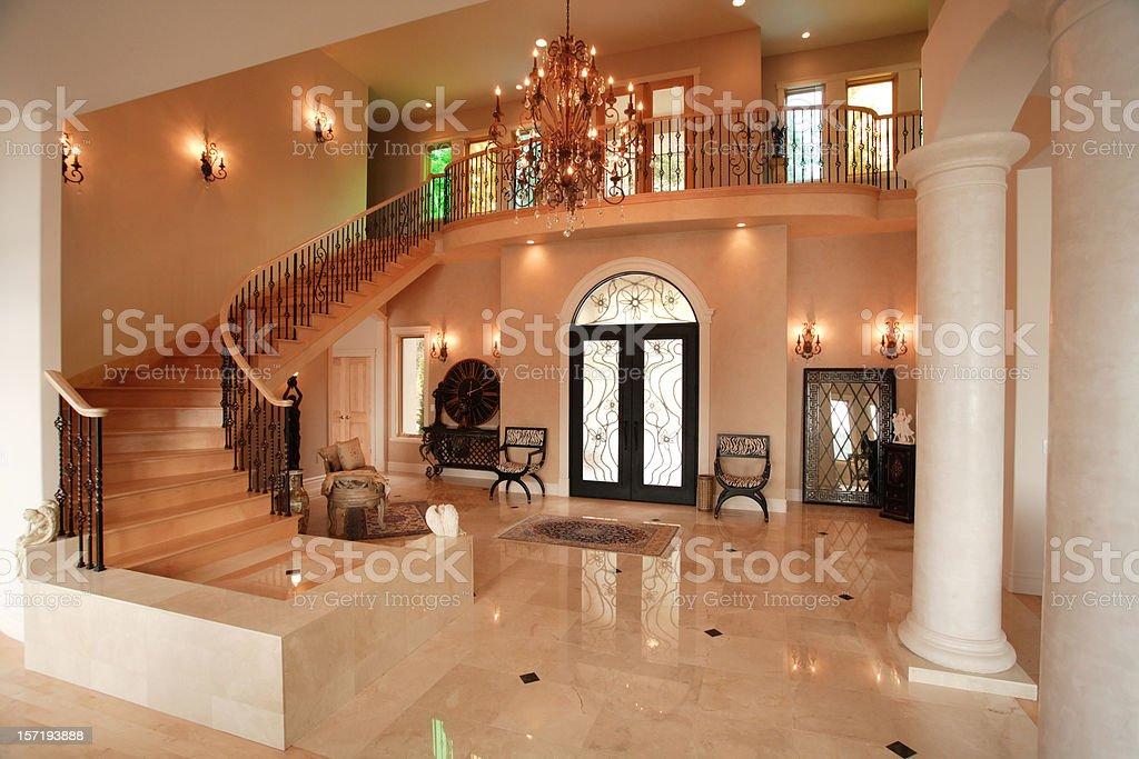 Luxury Home Interior royalty-free stock photo