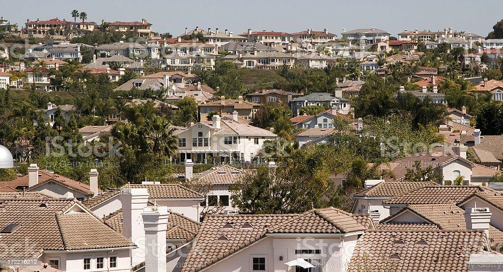 Luxury Homes- Orange County stock photo