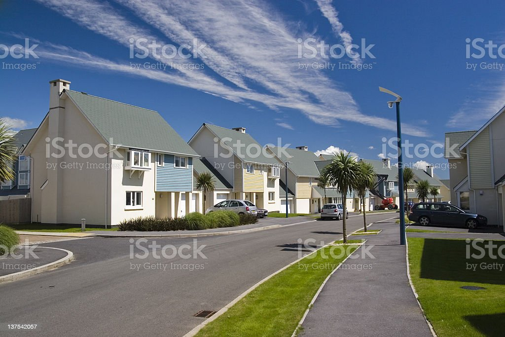 Luxury homes royalty-free stock photo