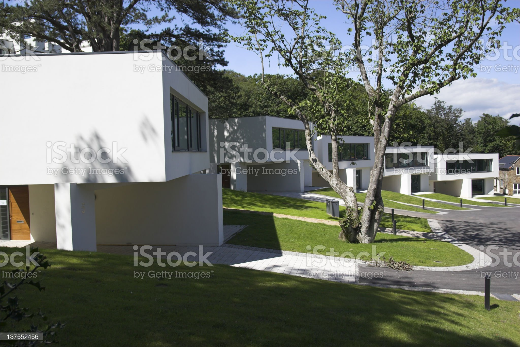Luxury homes royalty-free stock photo