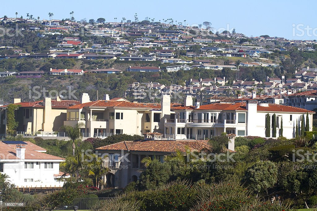 Luxury Homes stock photo