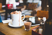 Luxury hot chocolate for one!