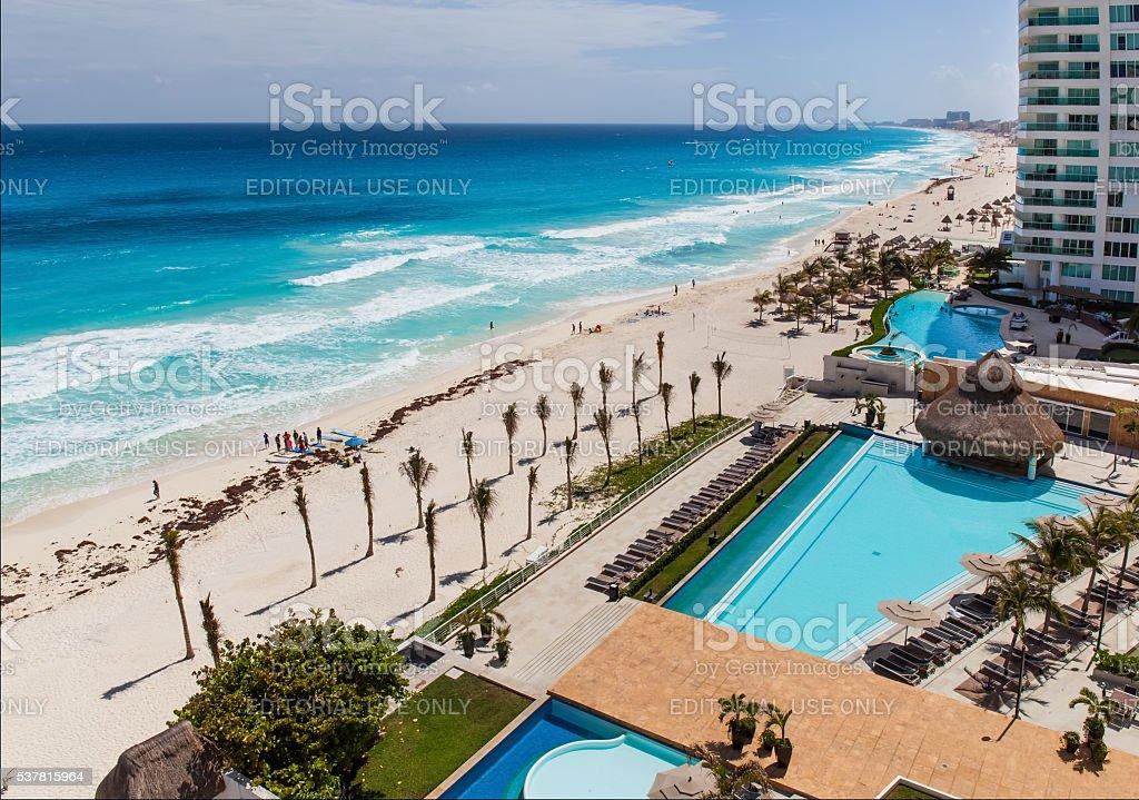 Luxury hotel Bay View Grand Porto Fino stock photo