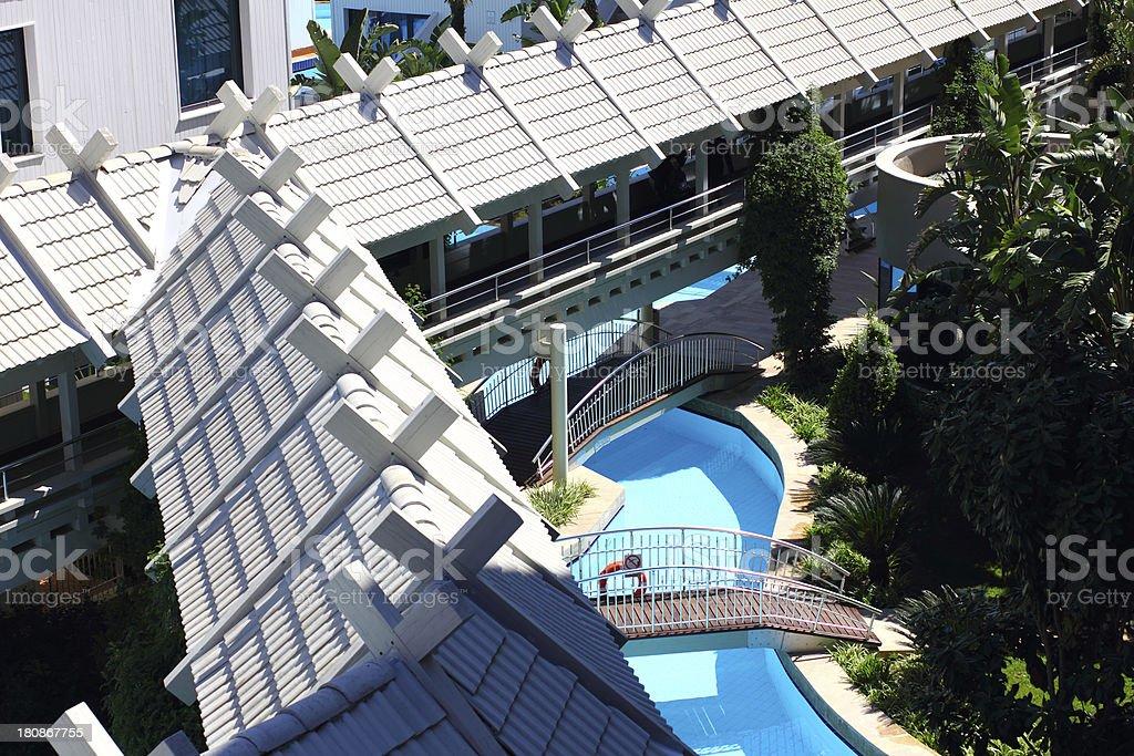 Luxury hotel holiday royalty-free stock photo