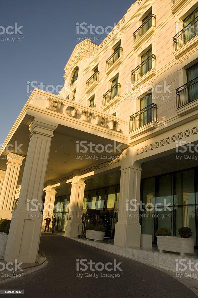 Luxury hotel royalty-free stock photo