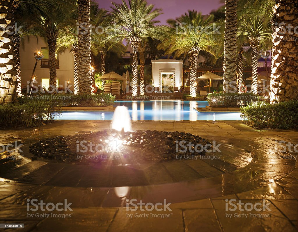 luxury hotel resort royalty-free stock photo