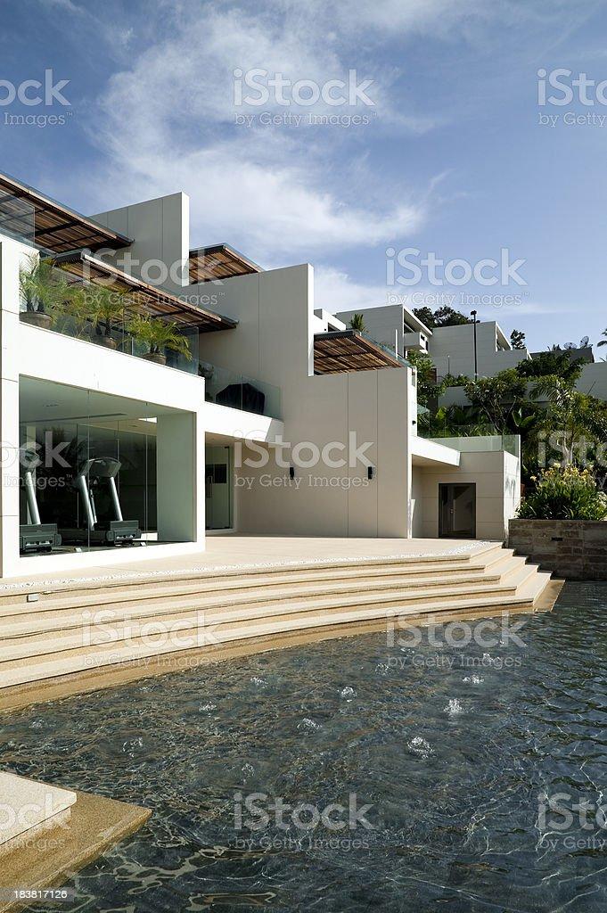 luxury hotel resort villa phuket stock photo