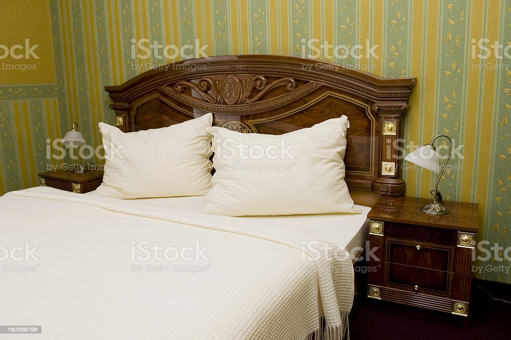 Luxury Hotel Room. royalty-free stock photo