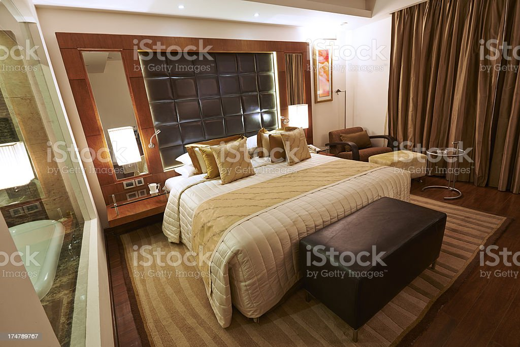 Luxury Hotel Suite royalty-free stock photo