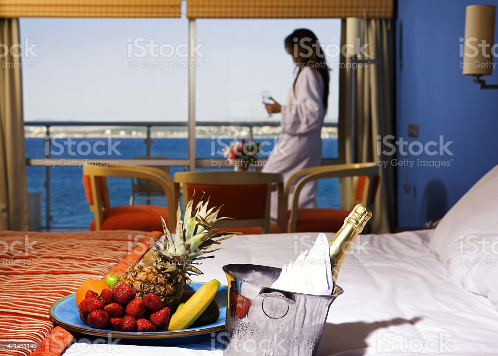 Luxury Hotel Suite royalty-free stock photo