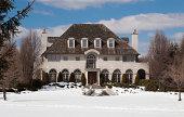 Luxury House in Winter