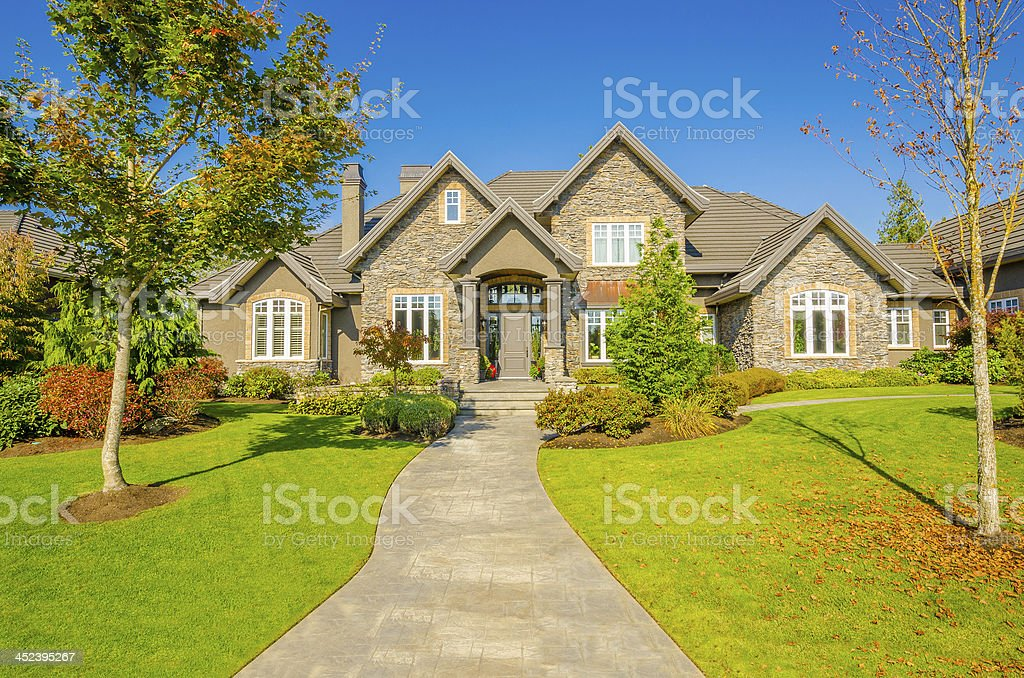 Luxury House stock photo