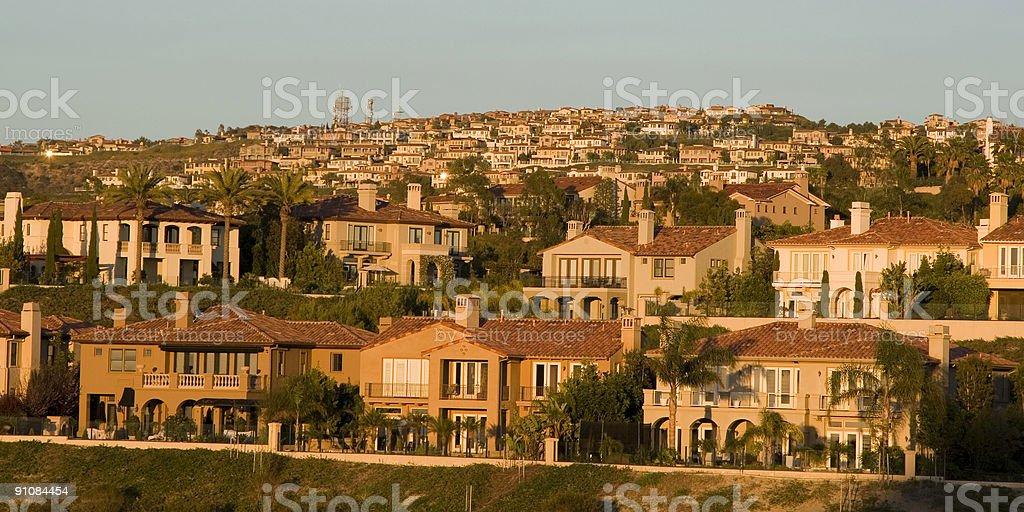 Luxury Houses- Orange County stock photo