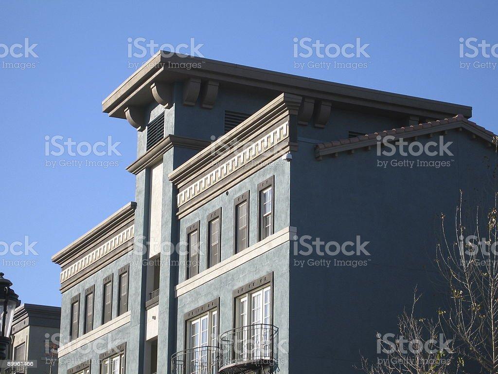 Luxury housing royalty-free stock photo