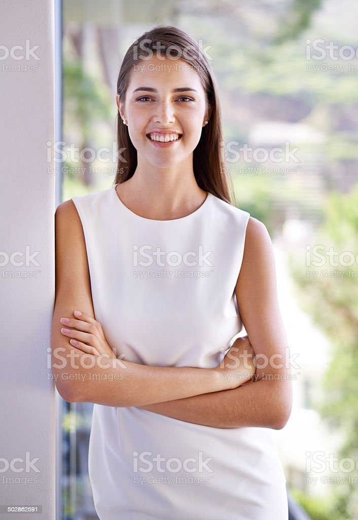 Luxury in the most casual way stock photo