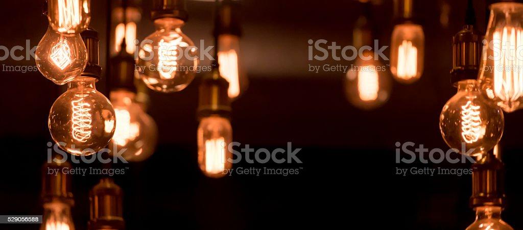 luxury interior lighting stock photo