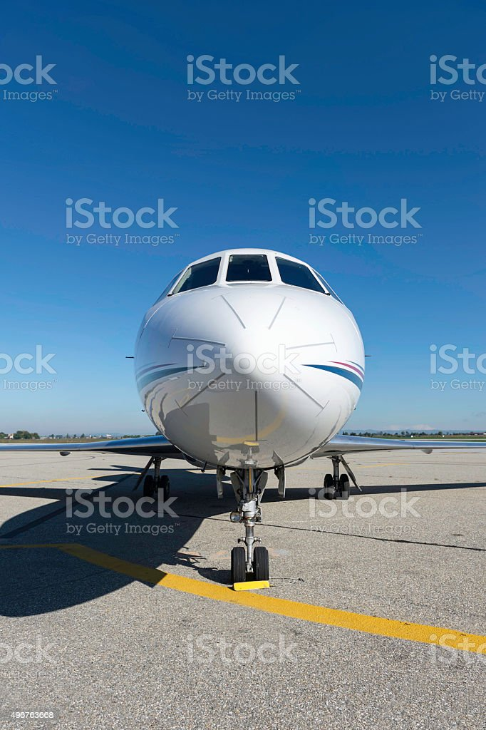 Luxury jet stock photo