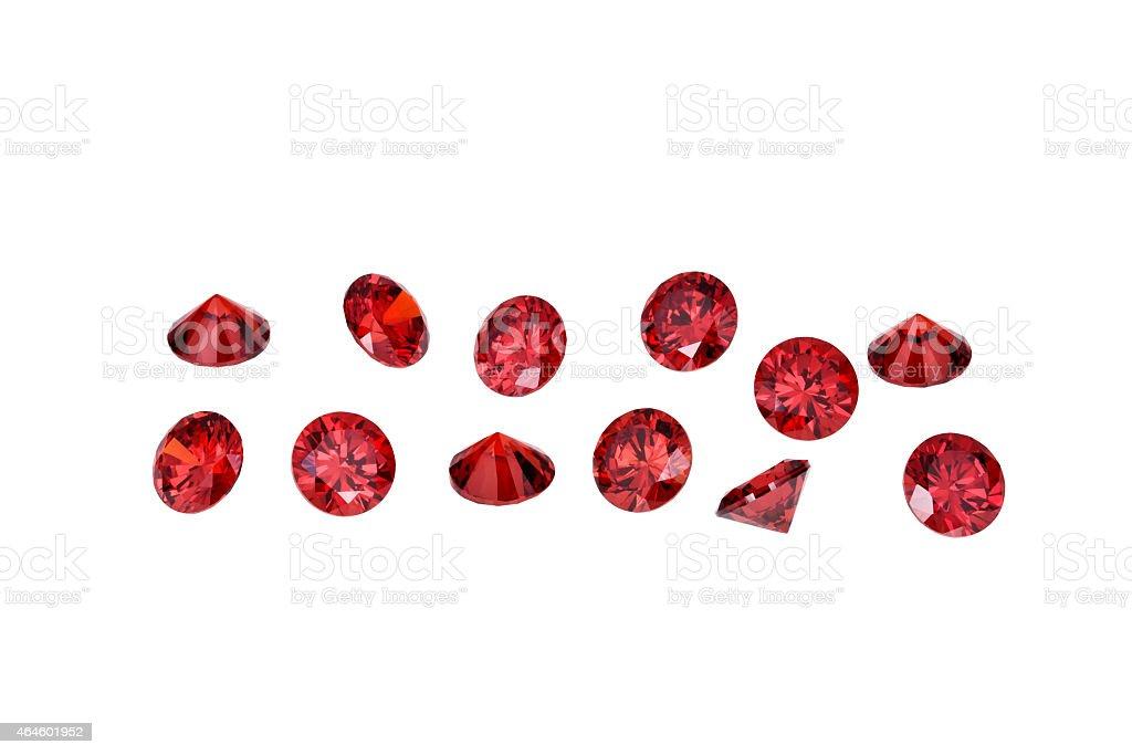 Luxury jewelry gems stock photo